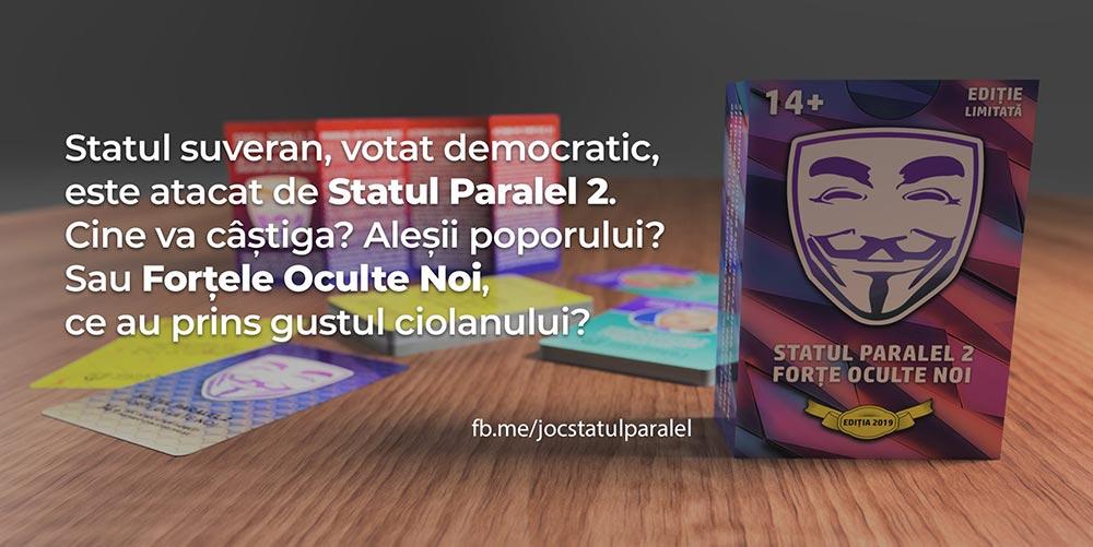Statul Paralel: un joc antrenant, inspirat din contradictiile vietii politice romanesti